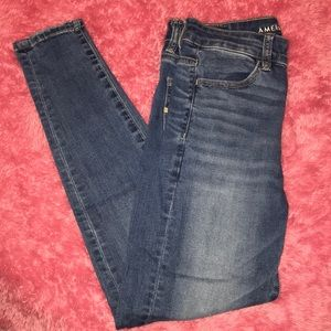 American Eagle Next Level Stretch Jean Jeggings 6S